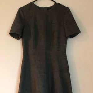 Women's Zara gray flannel like dress